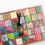 Wall Coat Rack Mosaic Handmade Pape..